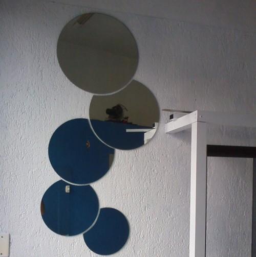 espelho junção decorativo redondo